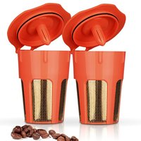 24K Gold Reusable K-Carafe Filter Reusable K-cup Filter 2.0 Brewers